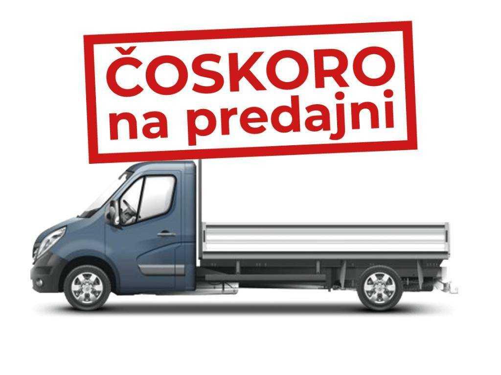 Opel Movano Plošina/ Podvozok/ Valník dvojkabína (Crew Cab Dropside) L3H1 3500 FWD - SRW