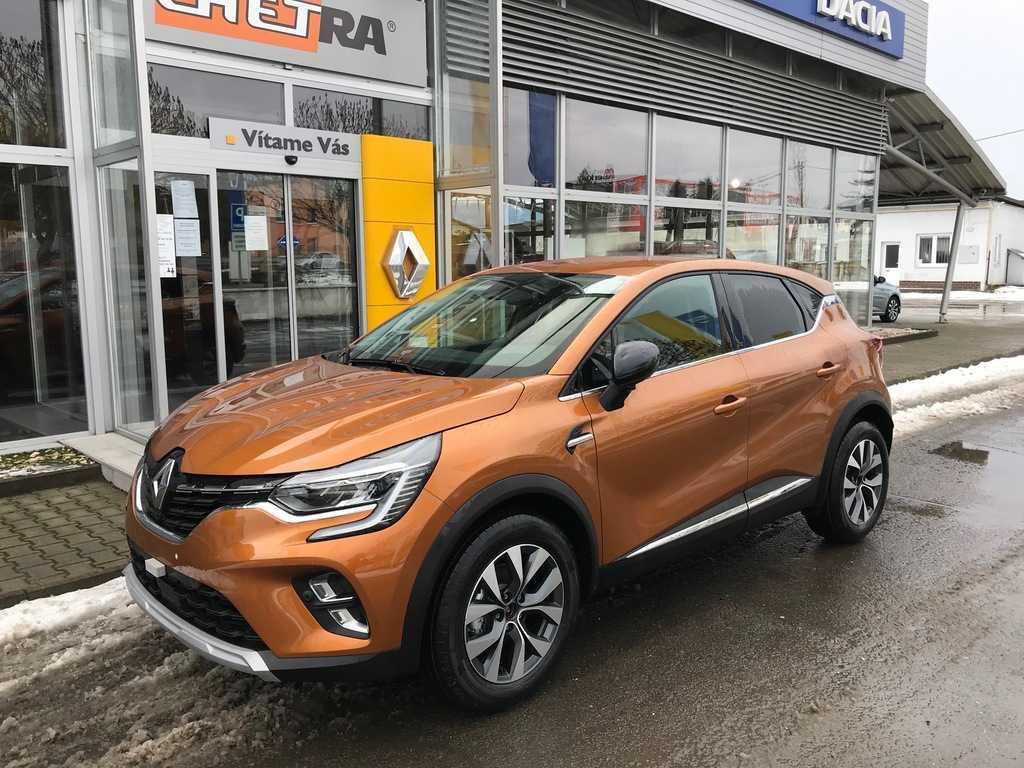 Renault Captur Intens 1,0 TCe 67kW / 90k